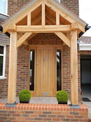 Wooden Timber Solid Oak Front Door!!! Made To Measure!!! From £1349!!bespoke!!!