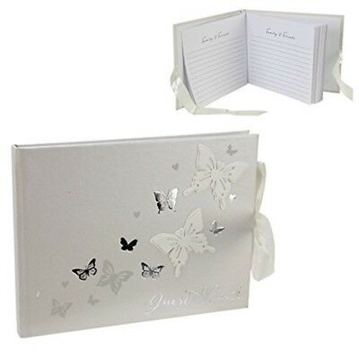 Country Baskets Juliana Love Butterfly Guest Book - Wedding Gift Wings
