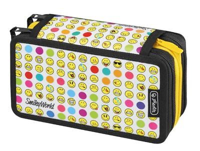 herlitz Schüleretui Triple Smiley World Rainbow Faces 31teilig Mäppchen