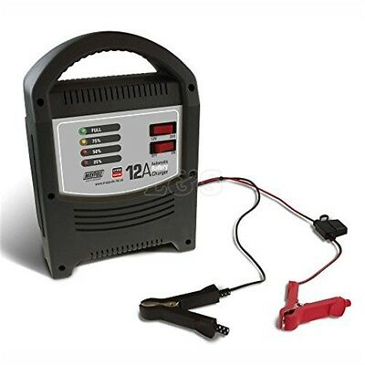 Maypole Mp7112 Battery Charger 12a LED Automatic 12v/24v - 12v24v