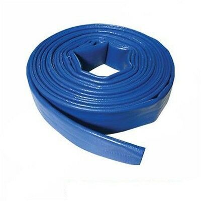 Silverline Lay Flat Hose 10m x 40mm - 868776 Discharge