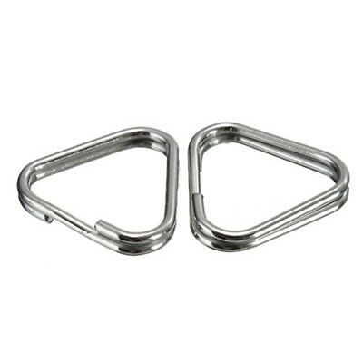 Triangle Split Ring 1/2in Ss - 12in
