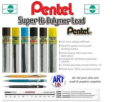 Pentel AUTOMATIC PENCIL Graphic Artists Technical Sketch Drawing Graphite Leads