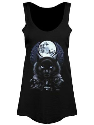 Requiem Collective The Bewitching Hour Women's Black Floaty Vest