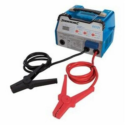 Silverline Automatic Battery Starter Charger 12a 6/12v 8-180ah Capacity - 6 12v