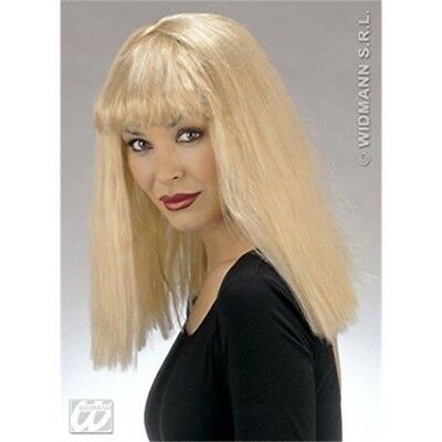 Funny Blonde Wig For Hair Accessory Fancy Dress - 90s Ladies Brit Pop Retro