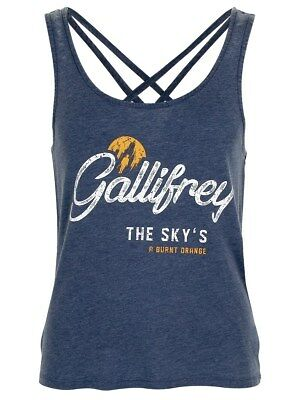 Doctor Who Gallifrey Women's Blue Vest