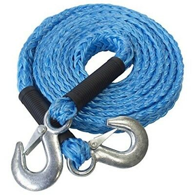 4m 1.2t Tow Rope (gs) - Gs 2000kg Max Load Tough Forged Steel Hooks Ultra