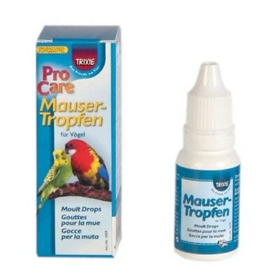 Moulting Drops For Birds, 15ml - Vitamins And Trace Elements For The Moulting -