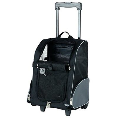 Trixie Nylon Trolley, 36 ラ 50 ラ 27 Cm, Black/ Grey - Trolleycm Black Dog Pet
