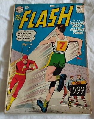 The Flash #107 (Gorilla Grodd  Trilogy) Key Issue: Very Nice Comic Vg+ 4.5!