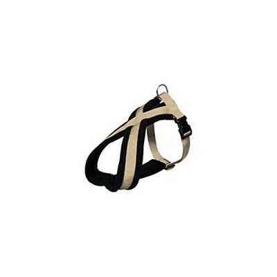 Trixie Premium Touring Dog Harness, 60 - 90cm x 25 Mm, Beige - Harness Padded