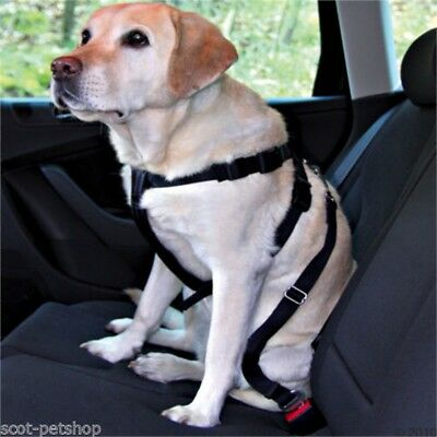 Trixie 1292 Auto-safety Harness, L: 70-90cm - Car Harness Dog Sizes Safety All