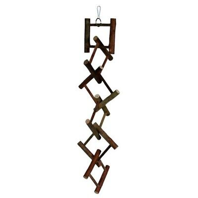 Trixie Natural Living Hanging Ladder, 12 Rungs/58cm - Ladder Bird Wooden Budgie