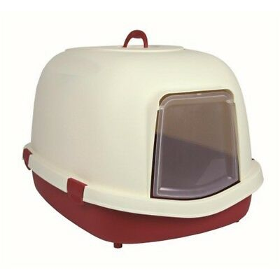 Trixie Primo Cat Litter Tray With Hood/flap/handle, X-large, 71 x 56 x 47 Cm, -