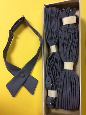 Tie Women Adjustable Criss-Cross Bowtie School Uniforms Military Academy Lot 12