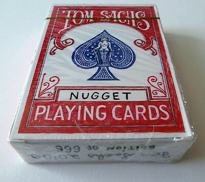 Tom Sachs Nugget Playing Cards First Red Edition