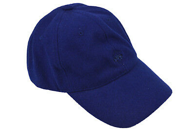 da036d03 Brooks Brothers Mens Royal Blue Embroidered Wool Blend Baseball Cap Hat