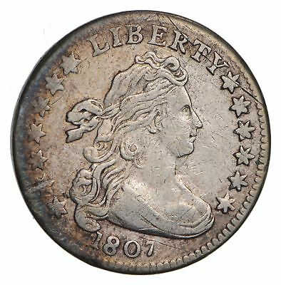 1807 Draped Bust Dime- Circulated *2968