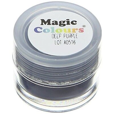 Magic Colours Edible Petal Dust Deep Purple - 7ml