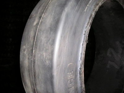 (2- Tires ) 16-1/4x5x11-1/4 Advance solid forklift press-on smooth tire 1614511