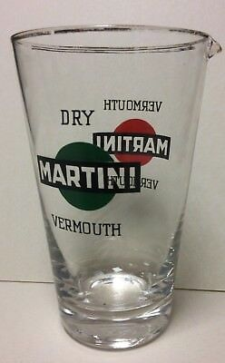 Vermouth Martini Dry Cocktail Bicchiere Dosatore  Glass Vintage Bar 16 Cm