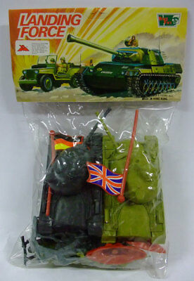 Vi.da.me Landing Force Wwii Toy Soldiers 2 Tanks