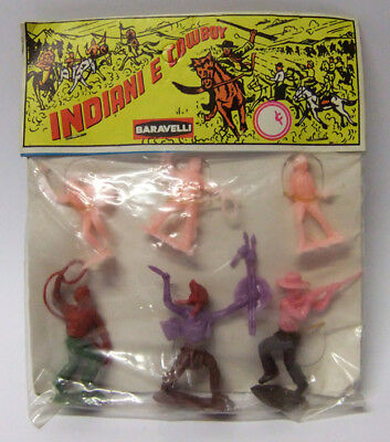 Baravelli 2-Inches Cowboys And Indians Made In Italy