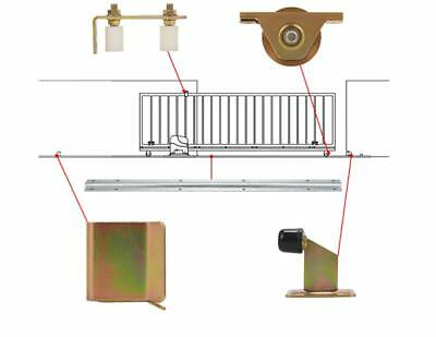 premium quality ! Sliding Gate Track Hardware Kit