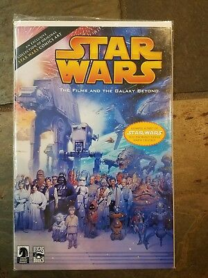 STAR WARS FILMS GALAXY BEYOND Rare Exclusive Collection Comic Fisher Dark Horse