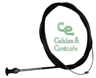 Light duty bonnet cable 1.8m Flex or solid wire. Ford Holden Mazda VW BMW nissan