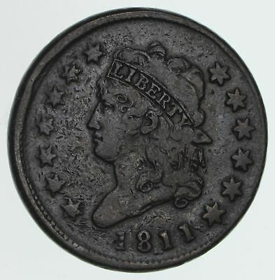 1811 Classic Head Large Cent - Circulated *3944