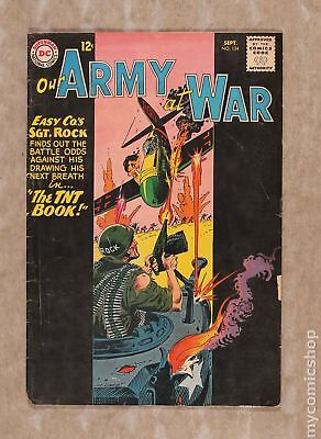 Our Army at War #134 1963 GD+ 2.5