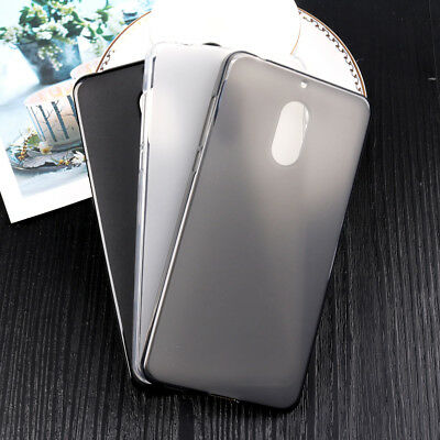 Soft TPU Silicone Matte Phone Case Protective Cover skin For Nokia 6