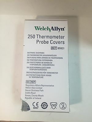 10 boxes (250) WA Thermometer Probe Covers, each box of 25 is sealed. #05031