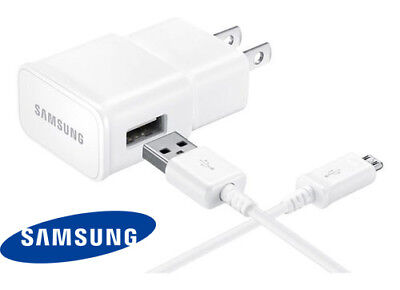 "Original Samsung Galaxy Tab A 10.1 4 7.0 8.0 S2 9.7"" Wall Adapter + USB Charger"