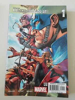The Ultimates 2 #1-13 (2005) Marvel Comics Full Complete! Bryan Hitch! Annual!
