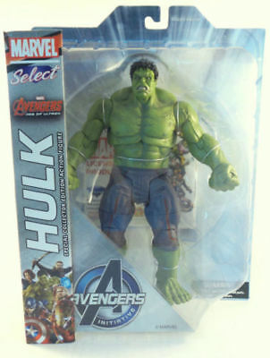 Marvel Select Age Of Ultron Hulk Hero Avengers Initirtive Figures Diamond Toy