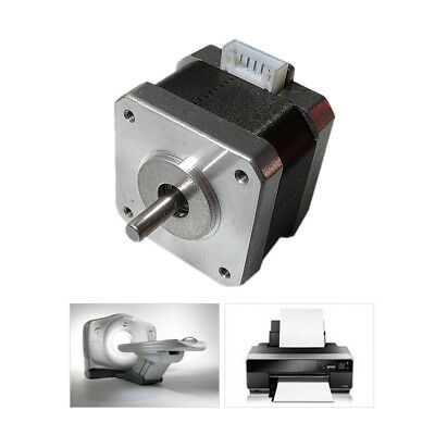 NEMA 17 Stepper motor 12V For CNC Reprap 3D printer extruder 36oz-in 26Ncm 0.4A