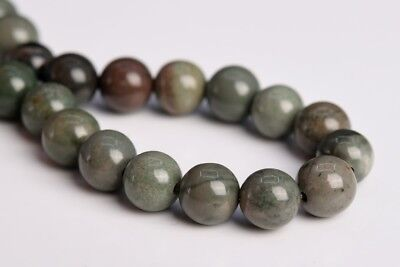 """6MM Genuine Natural Rainforest Agate Grade AAA Round Gemstone Loose Beads 7.5"""""""