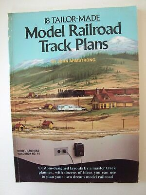 18 Tailor-Made Model Railroad Track Plans