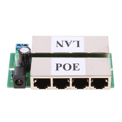 4 Ports POE Power Combiner Injector Switch for Wireless Monitoring