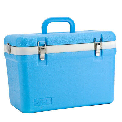 12L Cooler Ice Cool Carry Box for Ice Food Drink Summer Picnic Camping Box