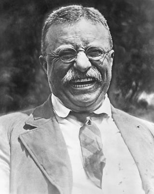 11x14 Photo: A Laughing President Theodore - Teddy - Roosevelt