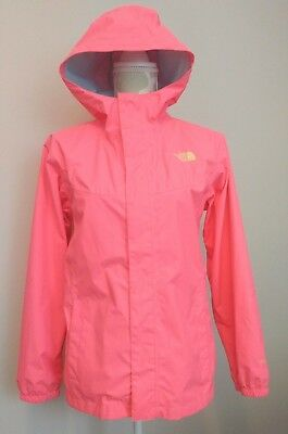 he North Face Dryvent Shell Rain Jacket Girls Size XL 18 Pink
