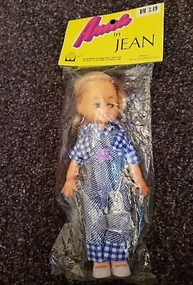 VINTAGE 70 er PUPPE ANNA in JEAN HANSON PRODUCTS HONG KONG  OVP