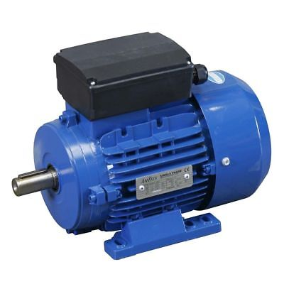 SINGLE PHASE ELECTRIC MOTOR 0.18kW TO 4kW 240v 1400RPM OR 2800RPM B3 B35 B34 HP