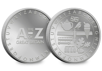 A-Z of Great Britain Collector's Medal [Ref: 616p]