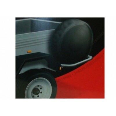 Maypole Mp94713 Dp Trailer Wheel Cover, 13-inch - Black/grey - Cover 13 Spare