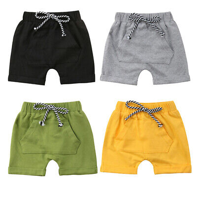 Newborn Infant Kids Baby Girls Boys Shorts Panty Beach Summer Bloomers Outfits